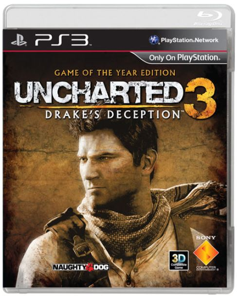 CROSSHATCH Polo Shirt und Jacke, PS3 Game Uncharted 3 ab 8,75€