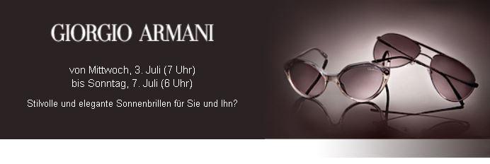 Armani Sale mit Rabatten auf Sonnenbrillen!