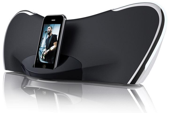 Coby CSMP145 Sound System mit Apple Dock für 39,90€