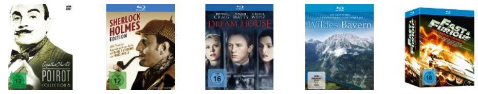 Filme & TV in den Amazon Blitzangeboten mit DVD und Blu rays