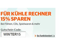 15% Rabatt auf viele Artikel bei Buch.de