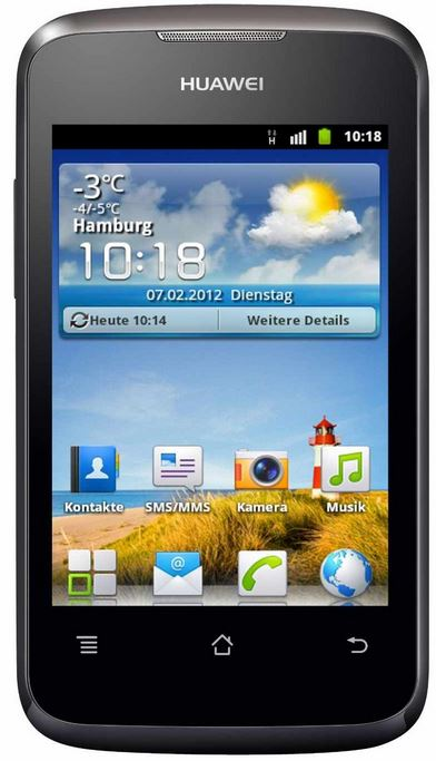 Update! Huawei Ascend Y200 für 39,90€   Android 2.3 Handy