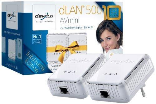 Update! Devolo dLAN 500 AVmini Starter Kit 500 Mbit für 37,89€