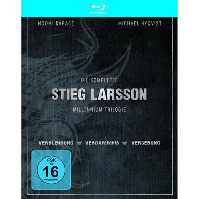 Stieg Larsson – Millennium Trilogie auf Blu ray für 7,99€