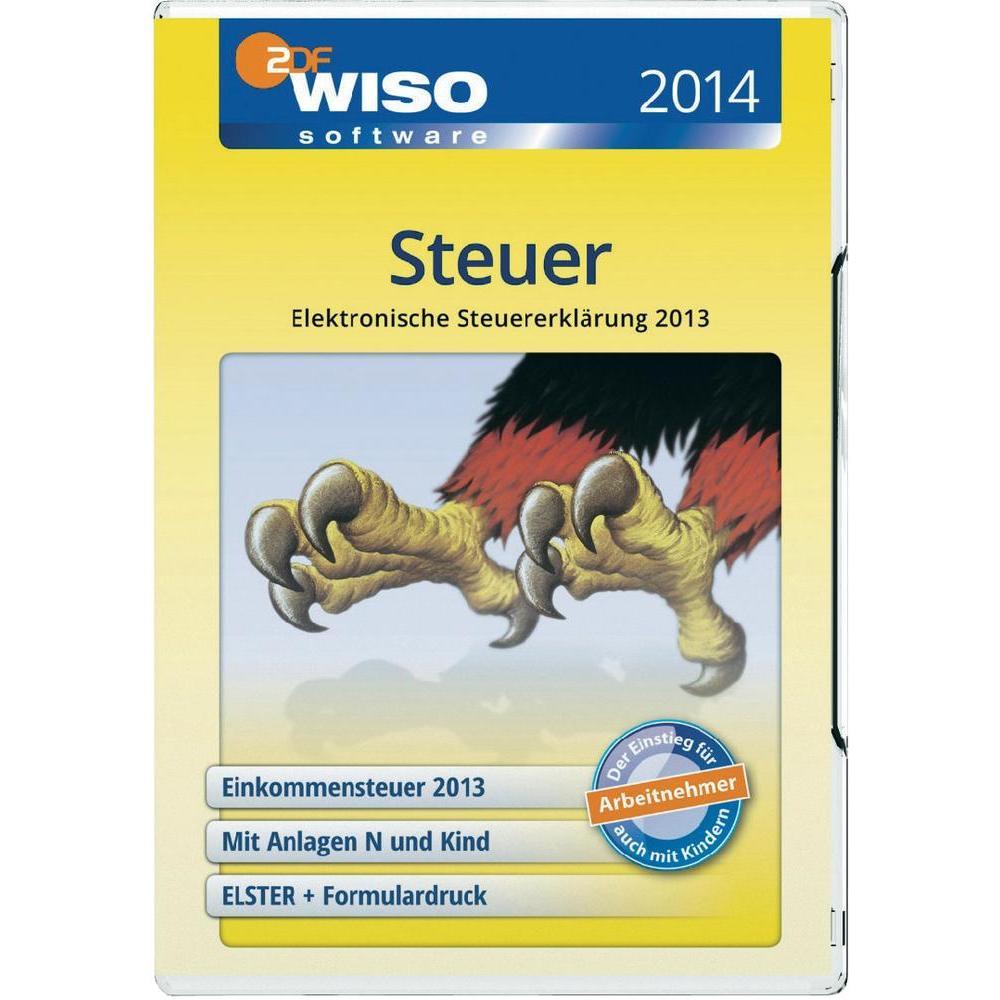 WISO Steuer Sparbuch 2014 für das Steuerjahr 2013 inkl. Versand 13€