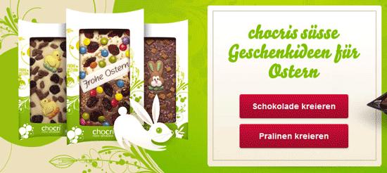 Update! 40€ Gutschein für Chocri Schokolade für 15,92€