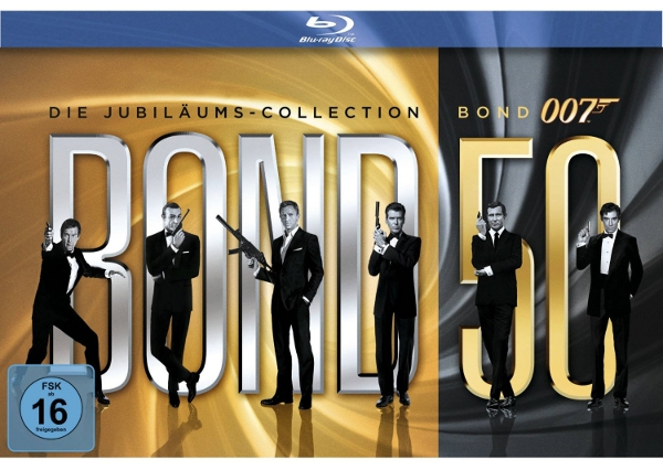 Update! James Bond 50 Collection DVD & Blu ray ab 66€