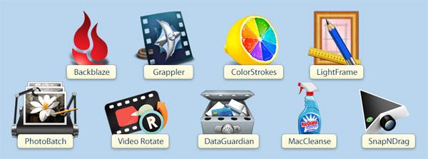 Kostenloses Mac Free Bundle   9 Mac Anwendungen gratis!