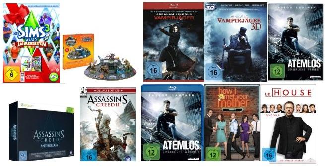 Amazon Osternest Deals! – Blu rays, DVDs & Games reduziert
