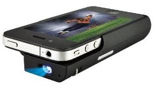 LogiLink AA0023 LogiBeam mini Projektor für iPhone 4/4S für nur 115,99€