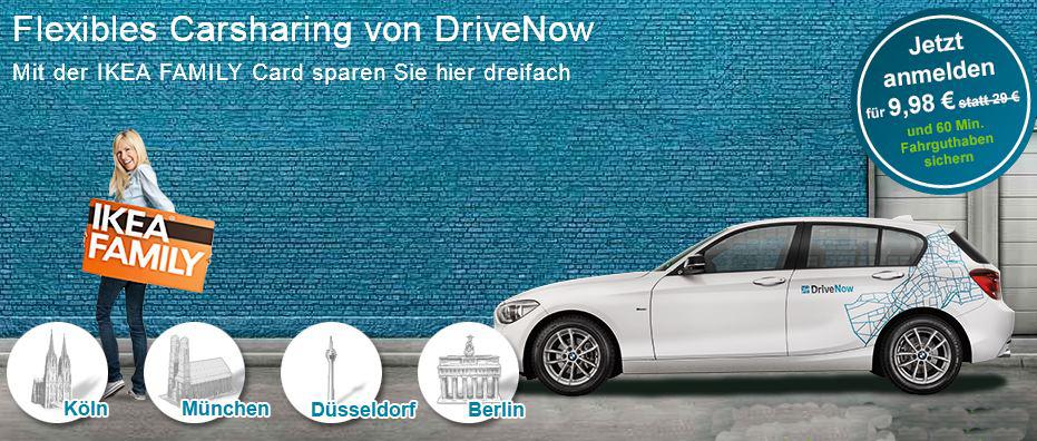 Update! DriveNow Anmeldung kostenlos inkl. 60 Minuten Fahrzeit!