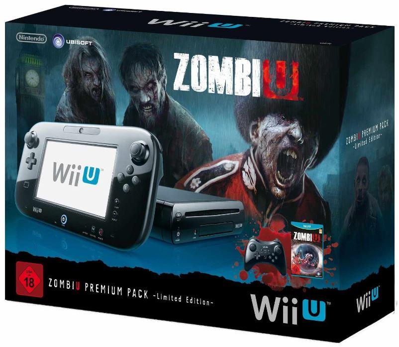 Nintendo Wii U Konsole ZombiU Premium Pack LE Bundle inkl. Versand 319€