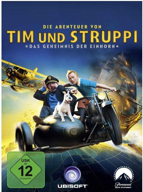 Download Game, Die Abenteuer von Tim und Struppi: Das Geheimnis der Einhorn nur 5,97€