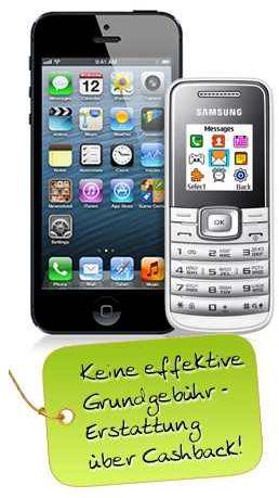 Smartphones wie Apple iPhone 5, günstig durch Rabatte und Cashback!