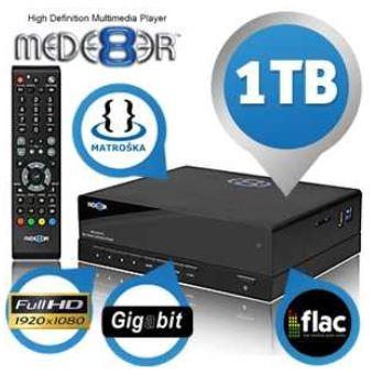 Full HD Media Player, Mede8er MED500X2, 1TB Speicher, Gigabit LAN, USB3.0, inkl. Versand 165,90€