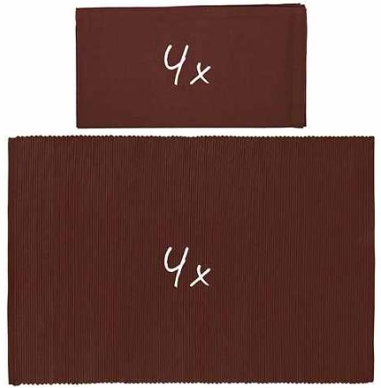 BUTLERS Mix it! Set aus 4 Servietten und 4 Tischsets inkl. Versand 12,95€