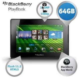 BlackBerry PlayBook, 7 Zoll Tablet mit 64GB, für 105,90€