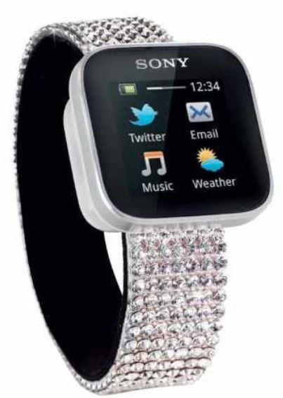 Sony SmartWatch Swarovski Handyuhr, inkl. Versand 199€