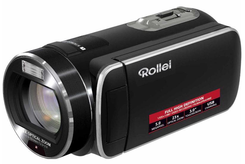 Camcorder Rollei Movieline SD 23, 5 Megapixel, 23 fach optischer Zoom, inkl. Versand 99€