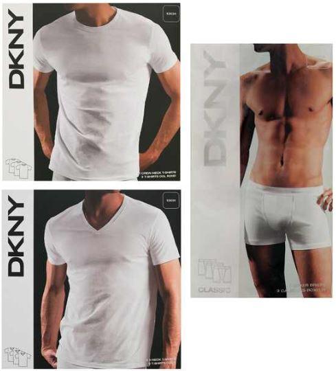 3er Pack DKNY T Shirts oder Boxer Shorts nur 19,99€