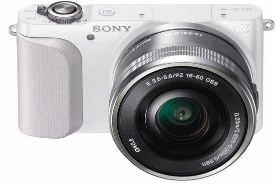 Systemkamera Sony NEX 3N mit 16 50mm Objektiv und 8GB Speicherkarte nur 376,50€