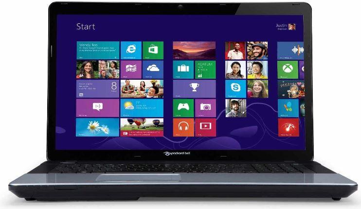 17,3 Notebook, Packard Bell EasyNote LE11BZ 11204G50Mnks, 4GB RAM, 500GB, Win 8 für 339€