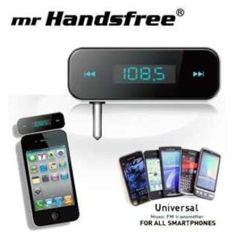 FM Transmitter, MrHandsfree für Audioquellen mit 3,5 Klinke nur 18,50€