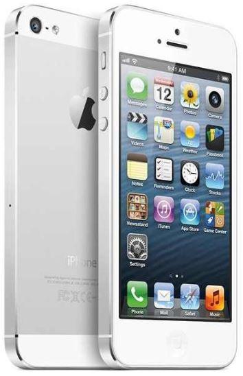 Apple iPhone 5   16GB, in weiß oder schwarz, je 589€