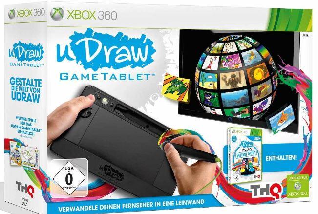 Wieder da! uDraw GameTablet für Xbox ab 9,99€!