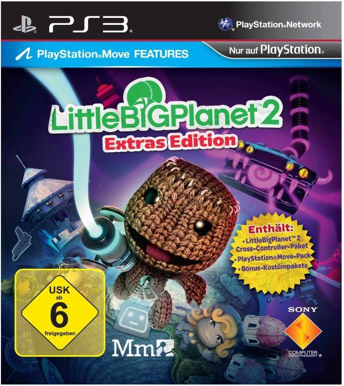 PlayStation 3 Konsole 12 GB + 2. Controller + Little Big Planet 2 nur 199€