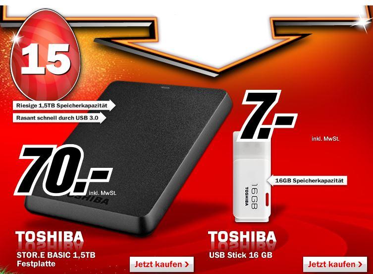 2,5 ext. Festplatte, TOSHIBA STOR.e Basics  1,5TB, nur 70€