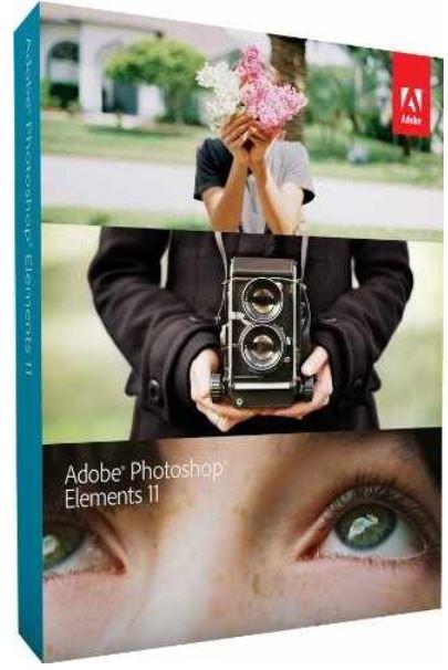Adobe Photoshop Elements 11, Vollversion auf CD/DVD für 39€