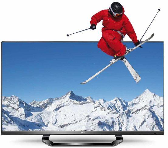55 Zoll Cinema 3D Smart TV, LG 55LM640S, mit triple Tuner für 999€