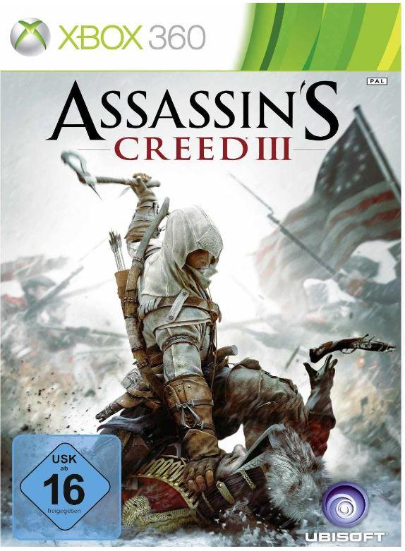 Knaller! Assassins Creed 3 für XBox 360, kostenlos!
