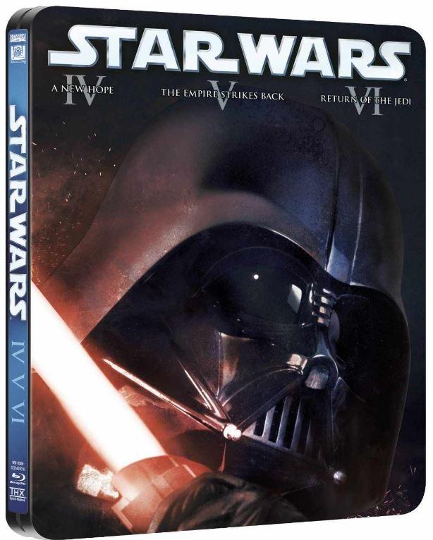 Blu rays STAR WARS komplett in 2 Steelboxen nur 81,73€