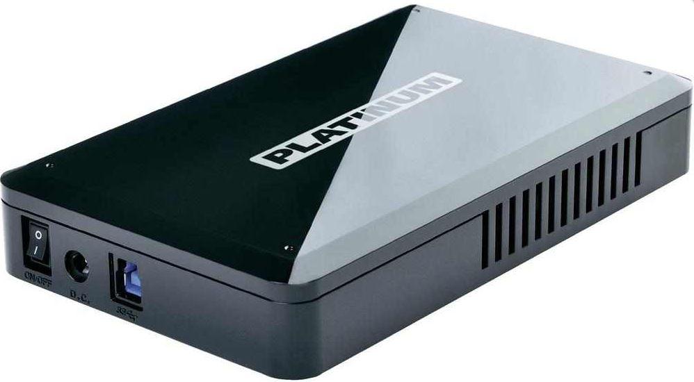Platinum MyDrive HP, externe 3TB Festplatte (3.5) mit USB 3.0, für 98,89€