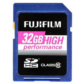 Fujifilm 32GB SDHC Karte für 16,99€   Class 10