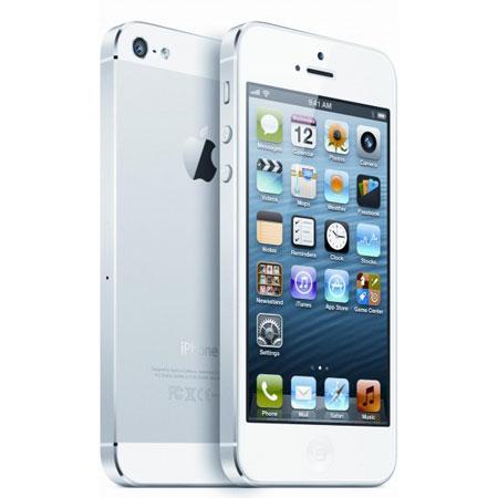 Apple iPhone 5 16GB in weiß für 559€   durch 0% Finanzierung und Gutscheincode