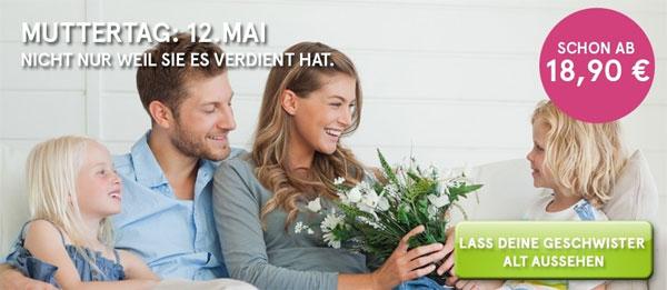 Update! Rabatte für die Online Blumenhändler Valentins und Miflora