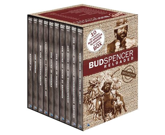 Bud Spencer Reloaded für 25€   DVD Box mit 10 Filmen