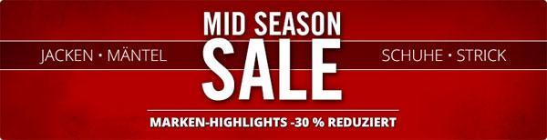 Mid Season Sale bei Hirmer   z. B. Lacoste V Neck Pullover für 65€ statt 99€