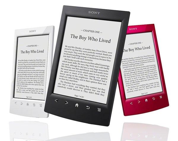 Sony eBook Reader Wi Fi PRS T2 für 94,40€