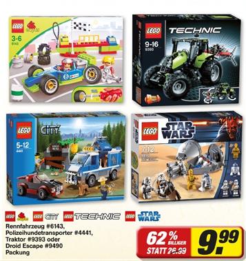 Lego Sets für 9,99€ im toom Verbrauchermarkt