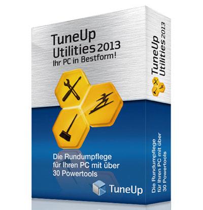 TuneUp Utilities 2013 für 9,85€
