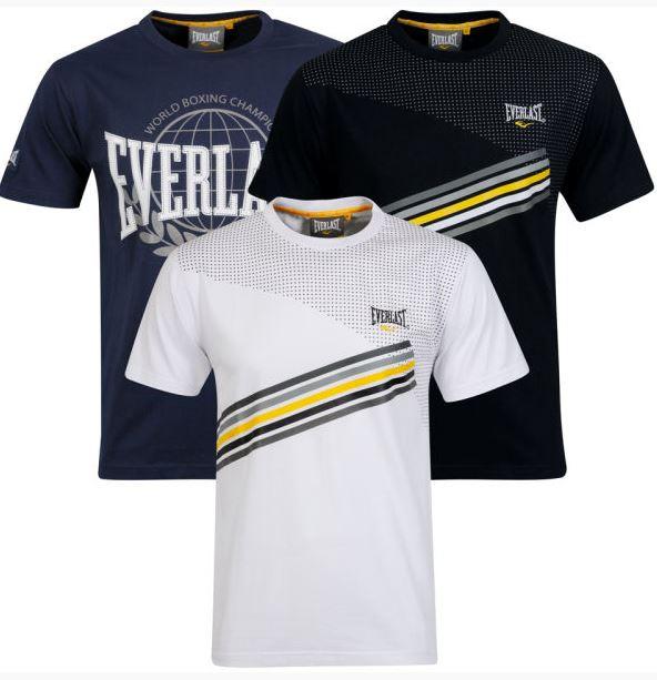 Windbreaker von 55 SOUL 16,25€ & 3er Pack T Shirts von EVERLAST 16,25€