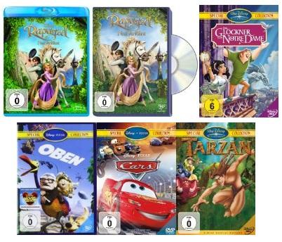 2 Disney Filme kaufen und 5€ sparen