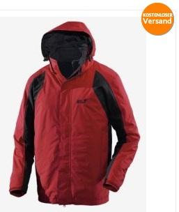 Jack Wolfskin Cold Mountain, Outdoor Funktionsjacke für 119€