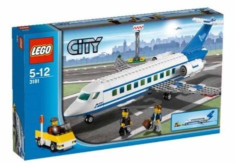 Update! LEGO City Passagierflugzeug 3181, für 21,99€