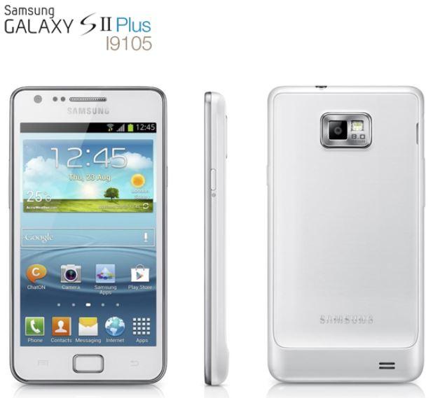 Android 4.1 Smartphone, Samsung Galaxy S2, Plus mit Super AMOLED Plus Screen für 249€