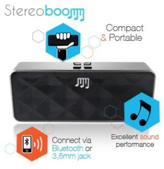 Stereoboomm 500 Compact Wireless Stereo Lautsprecher für 35,90€